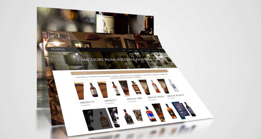colonial bar lecce realizzazione website