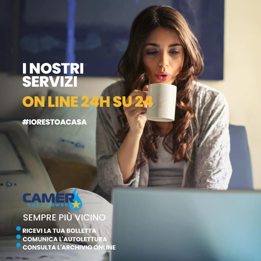 comunicazione social CamerGas&Power