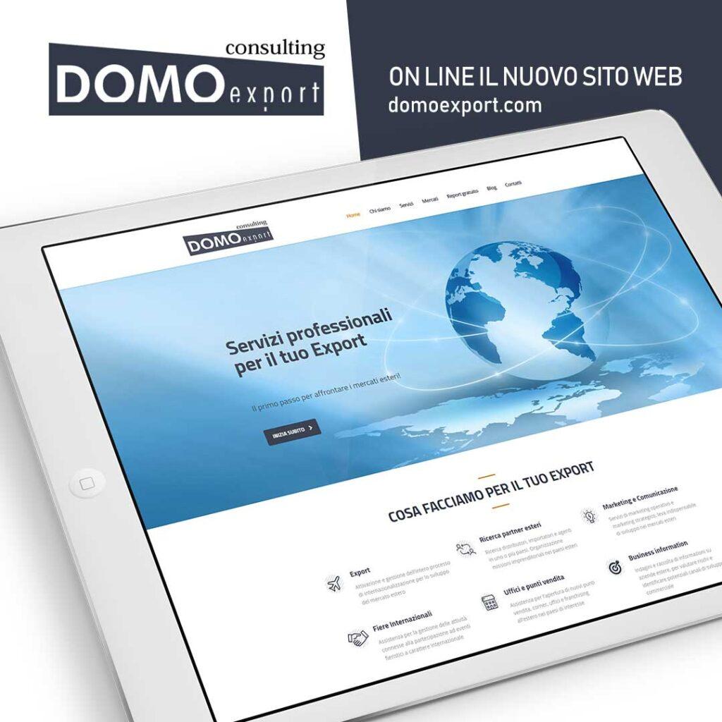 domo export consulting comunicazione social