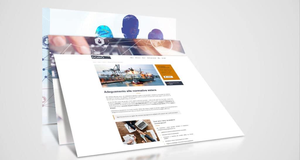 domo export consulting realizzazione website