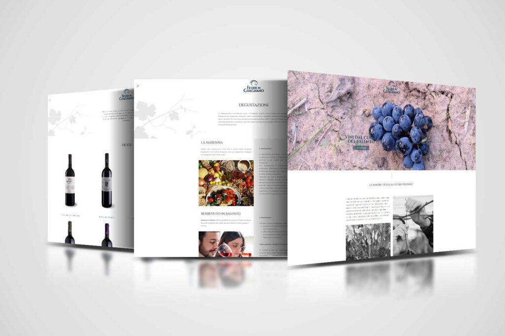 feudi di guagnano restyling website