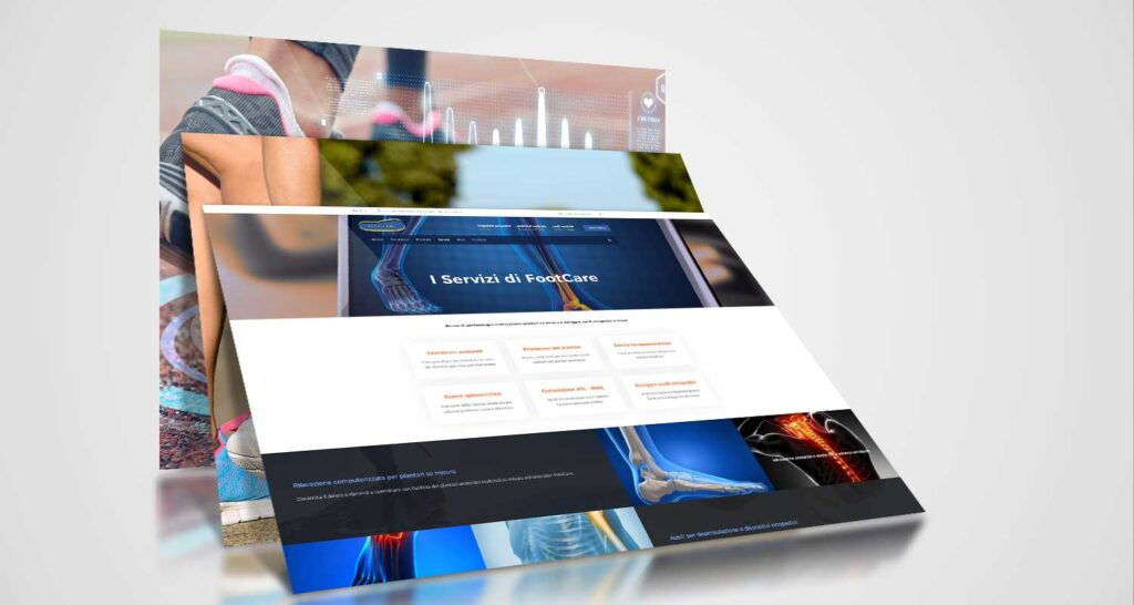 footcare lecce realizzazione website