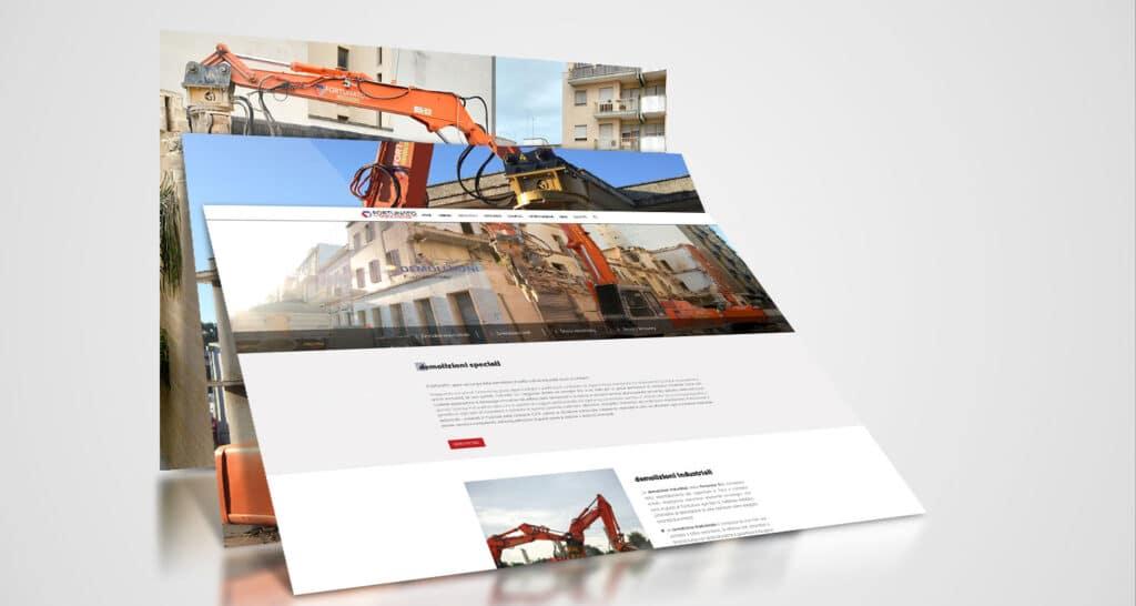 fortunato demolizioni realizzazione website