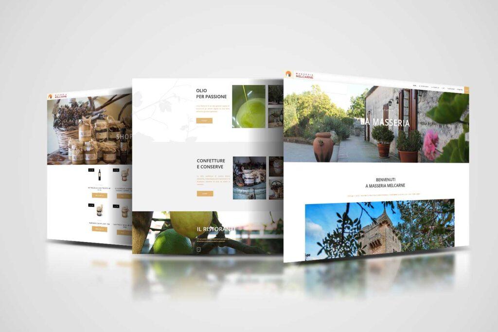 masseria melcarne restyling website