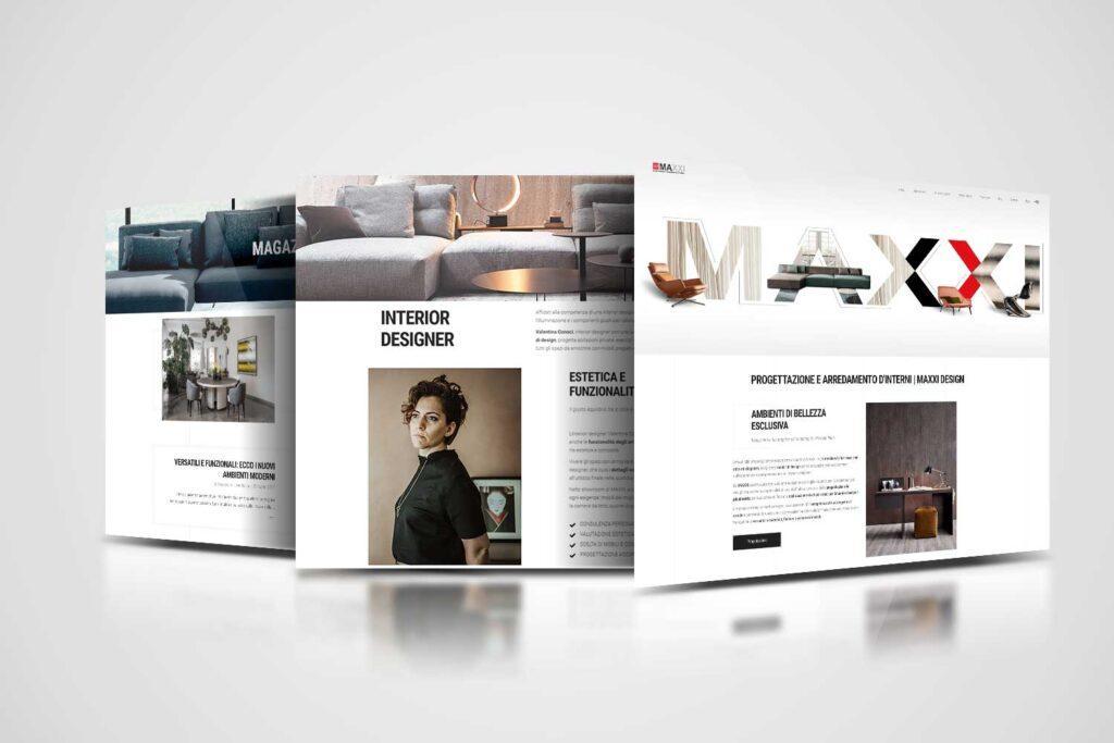 Maxxi Design restyling website