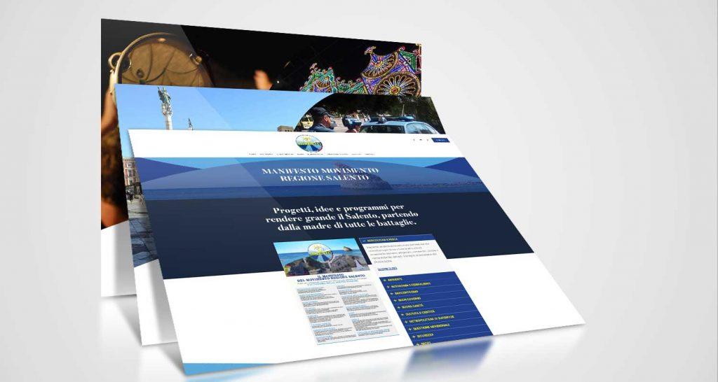movimento regione salento realizzazione website