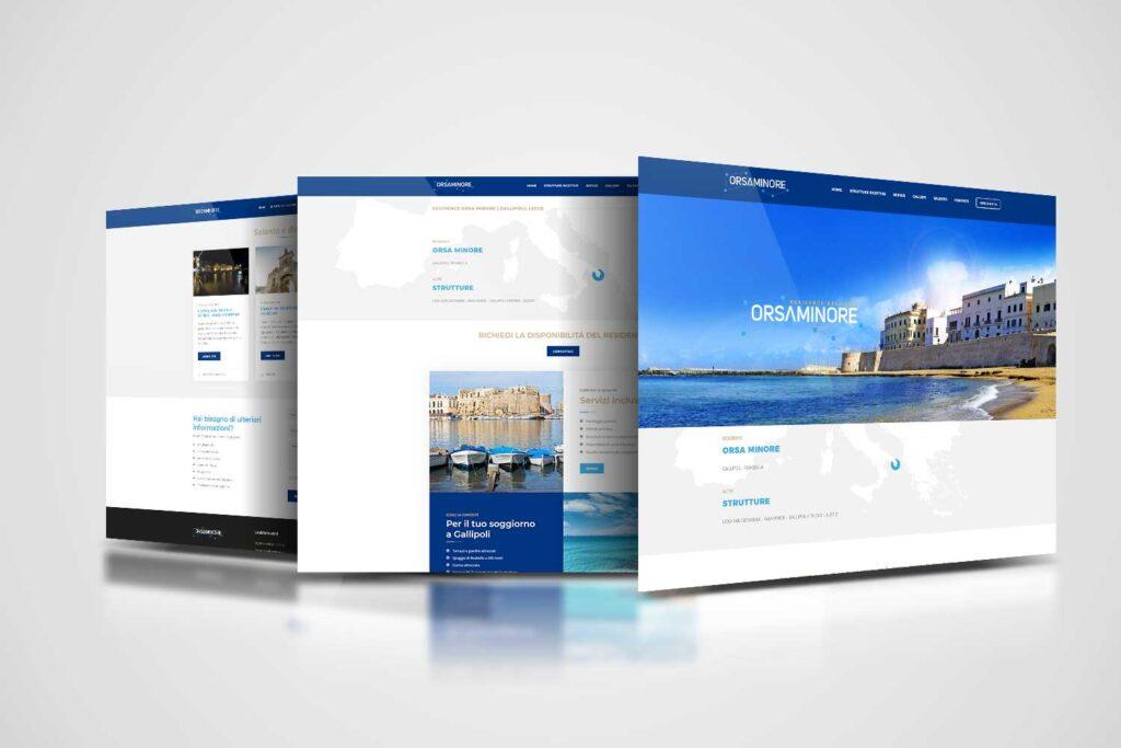 orsa minore residence realizzazione website