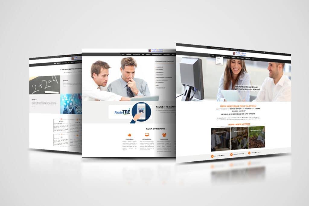 progetti & sistemi restyling website
