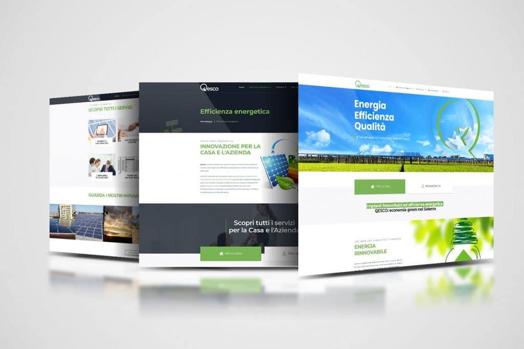 qesco realizzazione website e gestione social