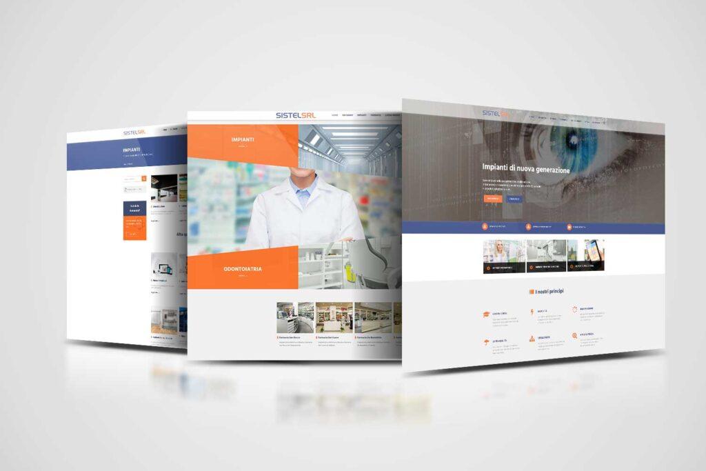 sistel srl realizzazione website e comunicazione social