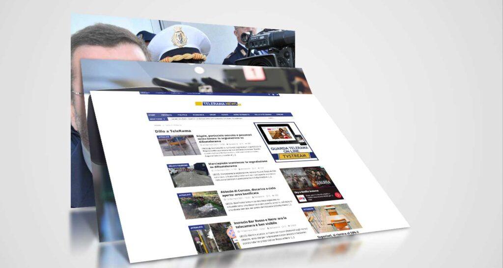 telerama realizzazione website